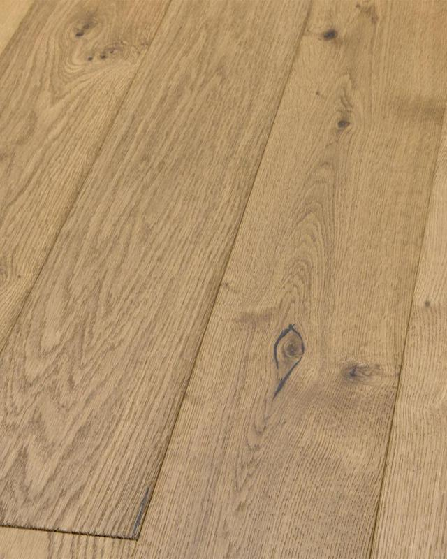 Mega Clic Bosnian Oak Collection Chardonnay 7.5x48, Embossed, Brown, Laminate, (Discontinued)