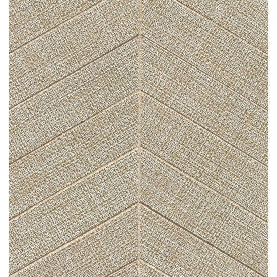 Dagny Fabrique Taupe 2x6 Chevron Matte Porcelain  Mosaic (Discontinued)