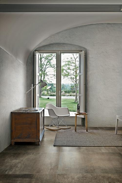 Matieres Brun Matte, Glazed 24x48 Porcelain  Tile