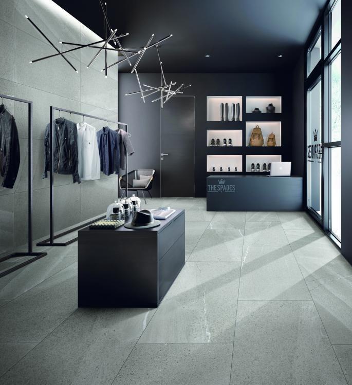 Grant Grey Matte 24x48 Porcelain  Tile