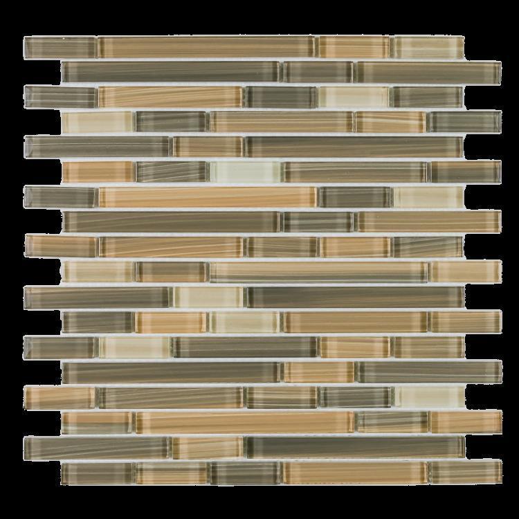 Venice Rain Spring Offset  Glass  Mosaic