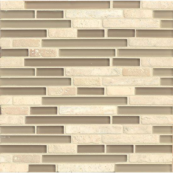 Eclipse Dunes Square Glossy Glass  Mosaic