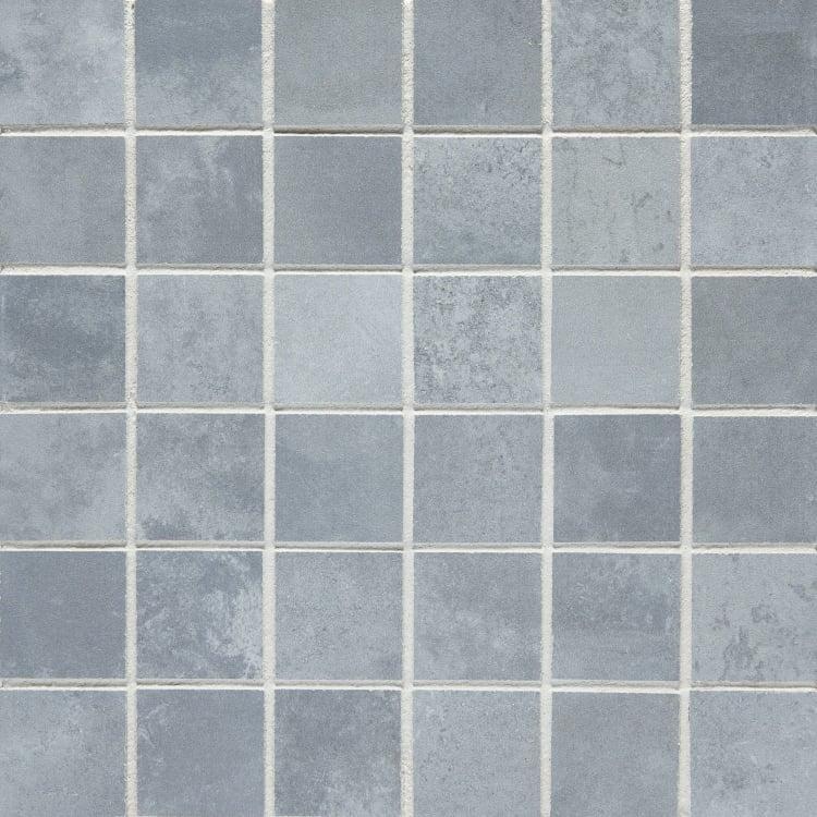 Icon Smoke 2x2, Matte, Square, Color-Body-Porcelain, Mosaic