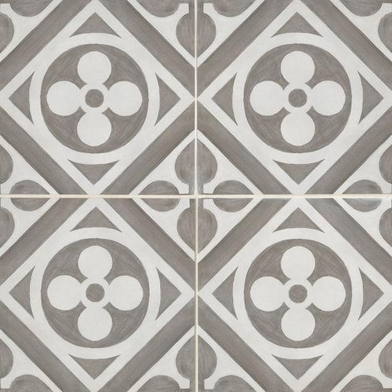 Chateau Canvas And Smoke Fiore Honed 12x12 Color Body Porcelain  Tile