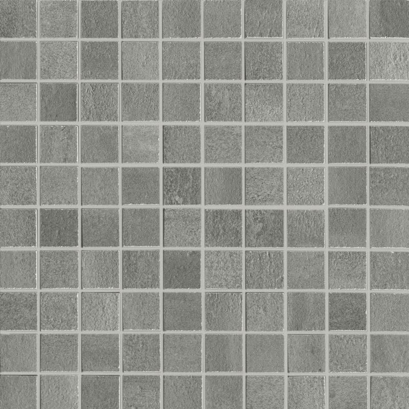 Unicom Overall Velvet 1x1 Square Matte Porcelain  Mosaic