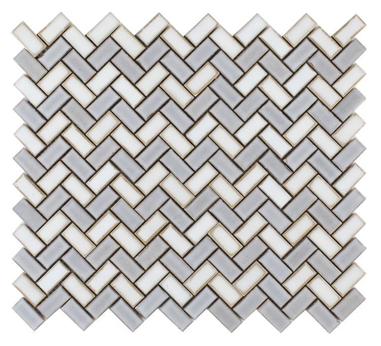 Hulu Tango Loft Herringbone  Porcelain  Mosaic