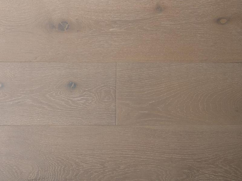 Laguna Oak Collection Buff 7.5xfree length, Wire-Brushed, Brown, Engineered-Wood