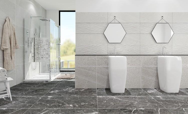 Grant Silver Matte 24x48 Porcelain  Tile