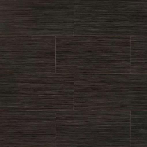 Runway Ebony 12x24, Glazed, Rectangle, Porcelain, Tile, (Discontinued)