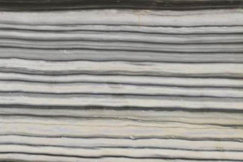 Marble Zebrino Bianco 57x120 0.75 in   Slab
