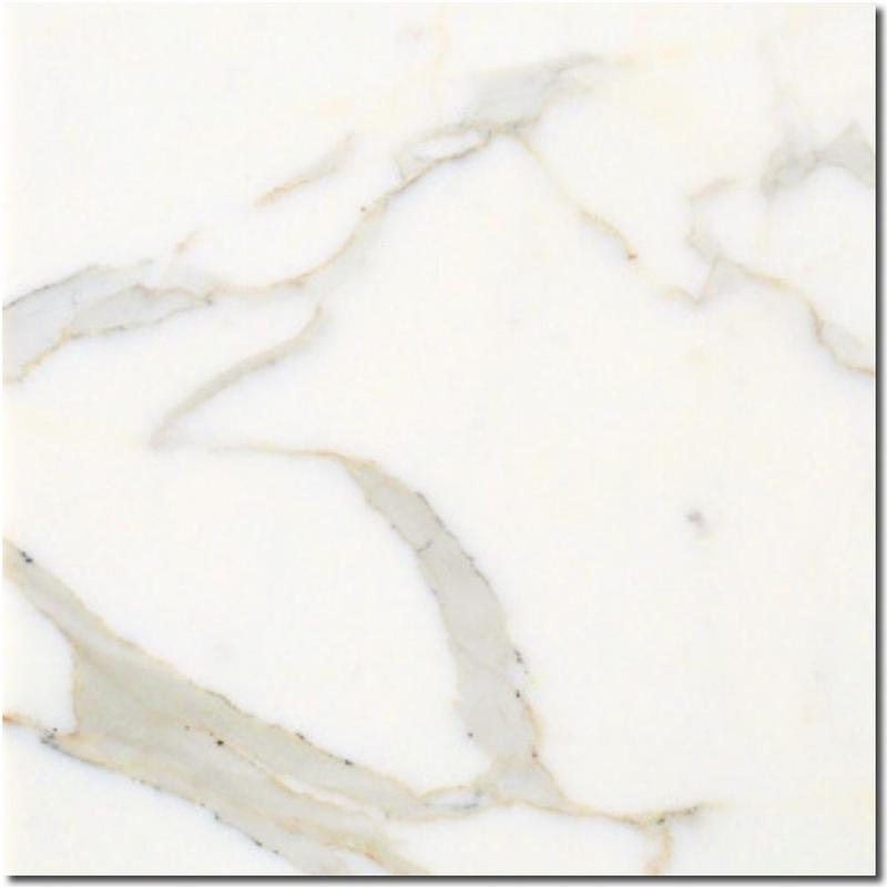 Calacatta Gold Marble Tile 18x18 Honed