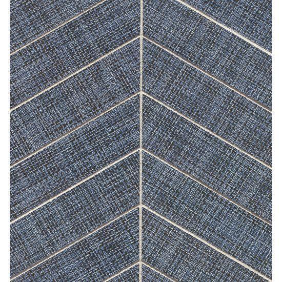 Dagny Fabrique Denimun 2x6 Chevron Matte Porcelain  Mosaic (Discontinued)