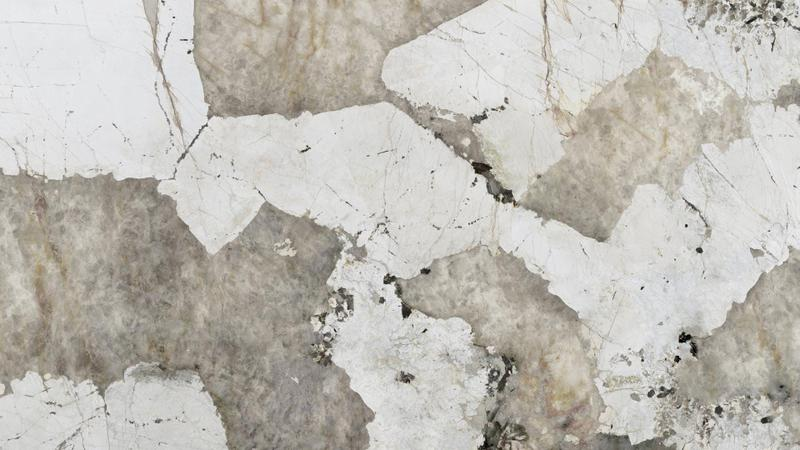 Group 4 Natural Collection Khalo Standard Size 57x126, 20 mm, Smooth Matte, Light Grey, White, Porcelain, Slab