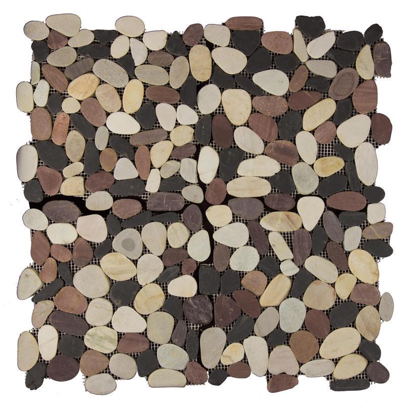 Pebble Mosaics Flat Matte Mixed Mosaic