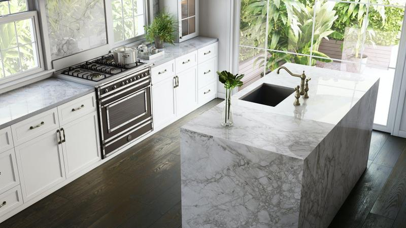 Group 4 Xgloss Stonika Collection Bergen Standard Size 57x126, 8 mm, Polished, Off White, Porcelain, Slab