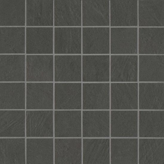 Simply Modern Black 2x2, Honed, Color-Body-Porcelain, Mosaic