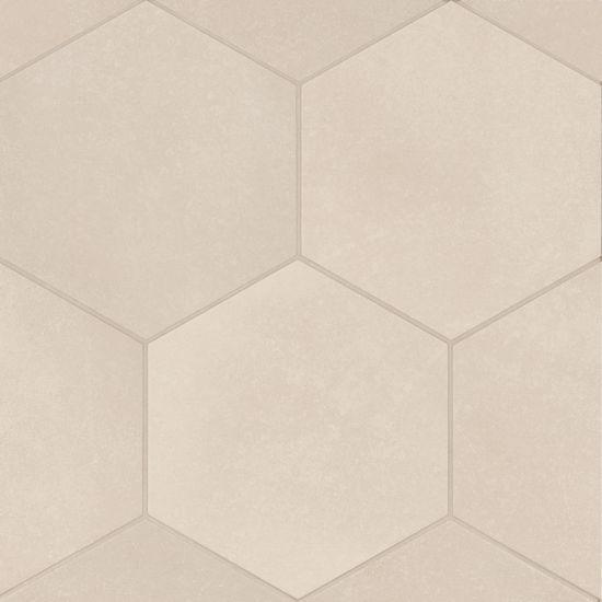 Makoto Tatami Beige 10x12, Matte, Hexagon, Porcelain, Tile