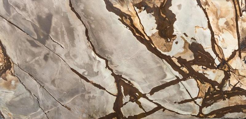 Granite Stonewood 57x120 0.75 in Leather  Slab