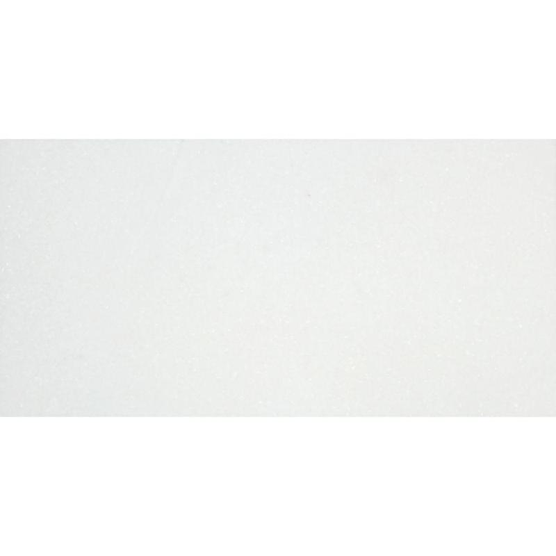 Thassos Marble Tile 12x24 Honed   3/8