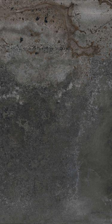 Hlc Alchimia 8 Nero Matte, Glazed 24x48 Porcelain  Tile