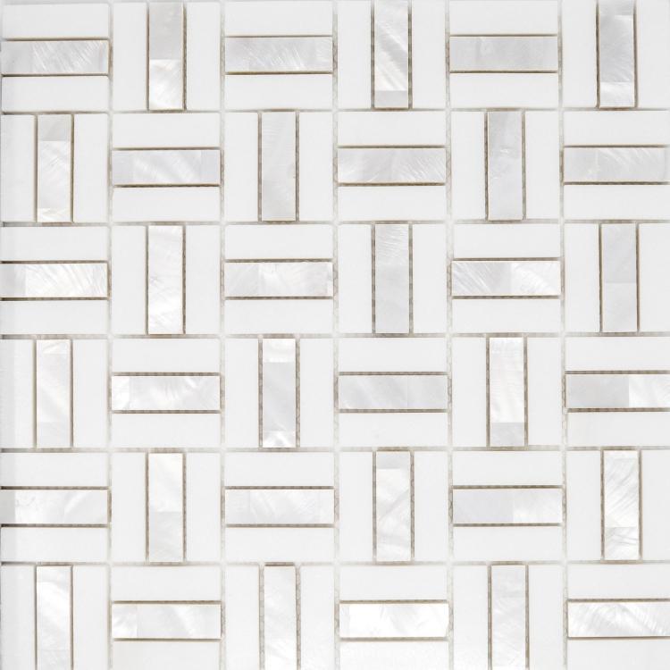 Diana Spectrum Thassos Pearl  Mosaic