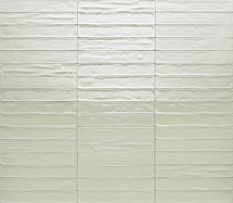 Ceramica Rondine Solid Menta Glossy 2.5x15 Ceramic  Tile