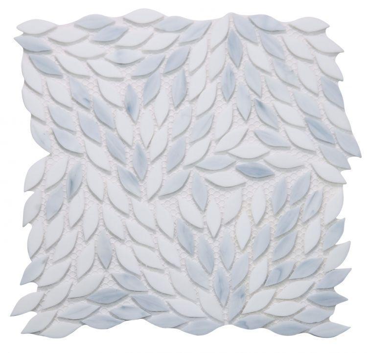 Newport Loft Leaf  Glass  Mosaic