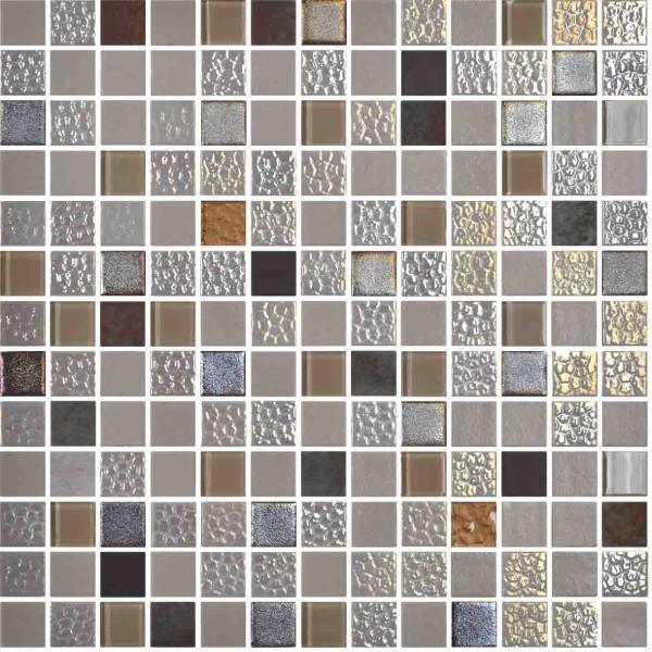 Onix Mystic Blends Sinai 1x1  Glass   Mosaic