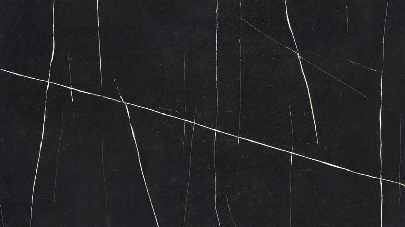 Group 6 Eternal Noir Jumbo Size 63x128, 12 mm, Suede, Black, Quartz, Slab
