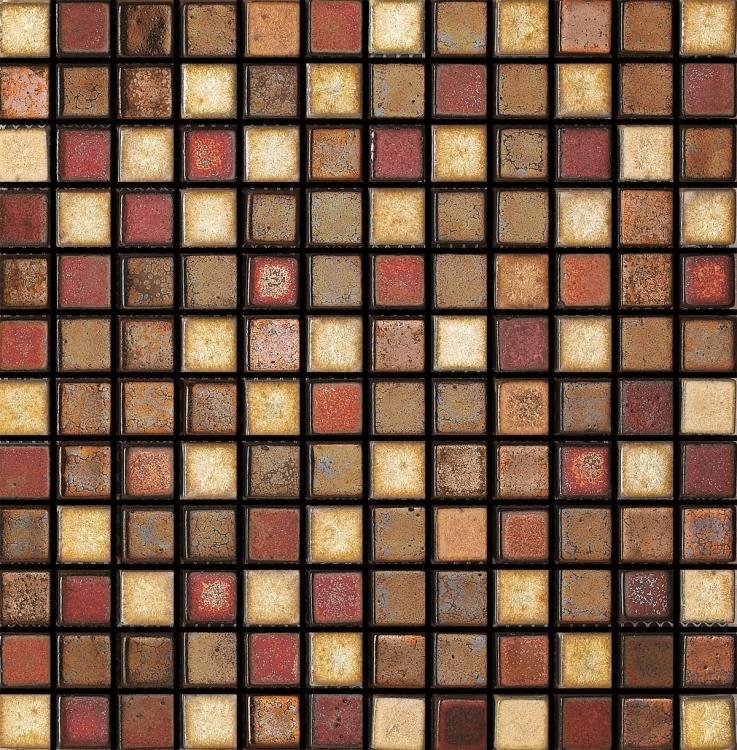 Roman Cobbler 1x1 Square  Porcelain  Mosaic