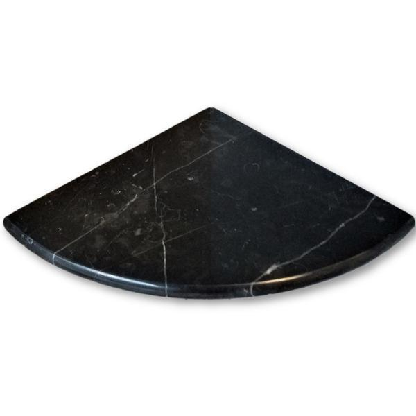 Negro Marquina Marble Tile 9x9 Polished   0.8 in
