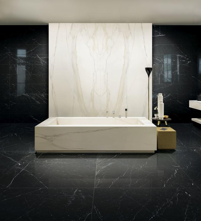 Classici Marquinia Glossy 32x32 Porcelain  Tile