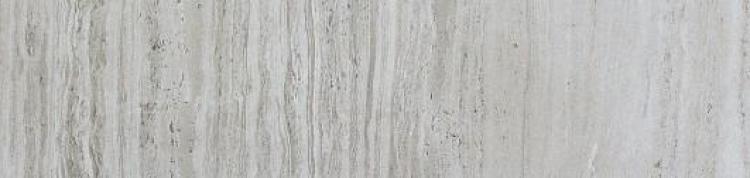 River Silver Glazed, r9, Lappato 4x12 Porcelain Bullnose