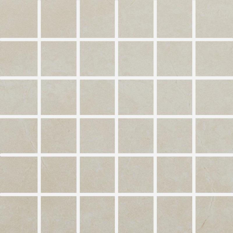 Lugano Marfil 2x2 Square Polished Porcelain  Mosaic