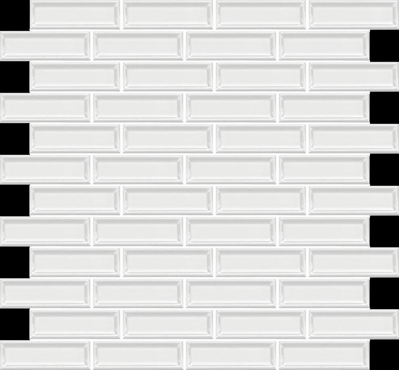 Roxy Quartz 1x3 Brick  Ceramic  Mosaic