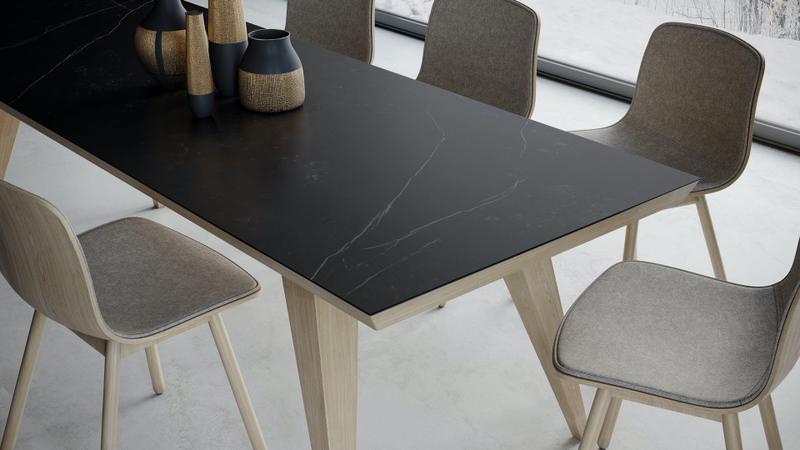 Group 2 Natural Tiles Kelya Suggested Size 28x62, Smooth-Matte, Black, Porcelain, Tile