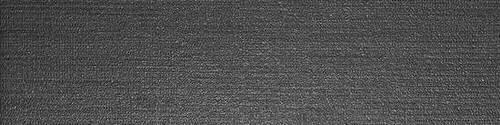 Infusion Fabric Black 6x24, Matte, Rectangle, Color-Body-Porcelain, Tile