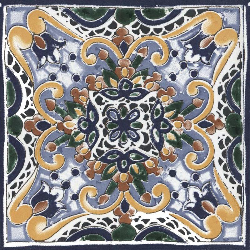 Seville Betis 6x6, Glazed, Square, Porcelain, Tile, (Discontinued)